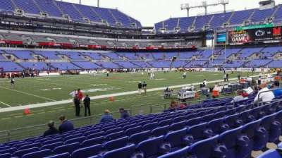 M&T Bank Stadium, section: 103, row: 11, seat: 14