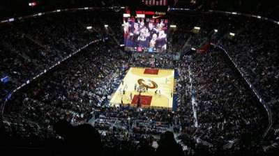 Quicken Loans Arena, section: 201, row: 16, seat: 4