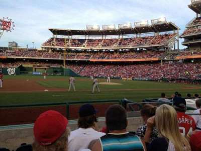 Nationals Park, section: 115, row: H, seat: 6