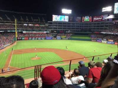 Globe Life Park in Arlington section 231