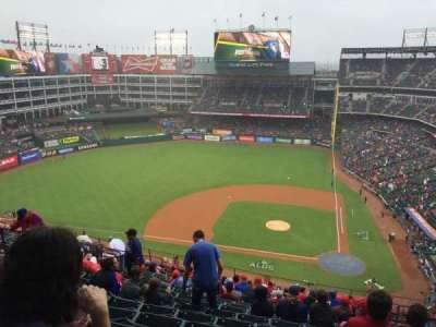 Globe Life Park in Arlington, section: 321, row: 18, seat: 13