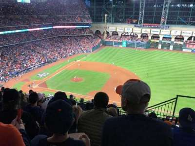 Minute Maid Park, section: 427, row: 5, seat: 22