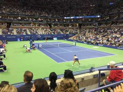 Arthur Ashe Stadium, section: 66, row: F, seat: 5