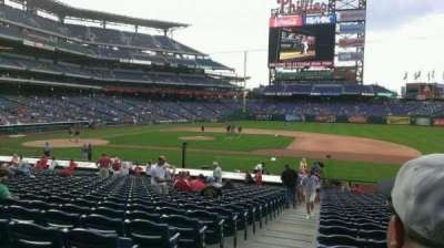 Citizens Bank Park, section: 115, row: 25, seat: 18