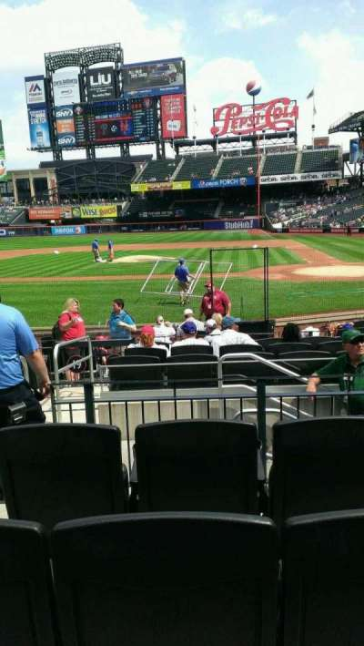 Citi Field, section: 18, row: 12, seat: 12