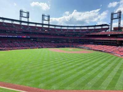 Busch Stadium, section: MVP1, row: A, seat: 3