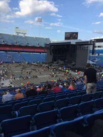 New Era Field, section: 135, row: 42, seat: 20