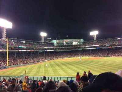 Fenway Park, section: Bleacher 38, row: 10, seat: 14