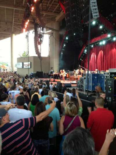 Klipsch Music Center, section: C, row: UU, seat: 23