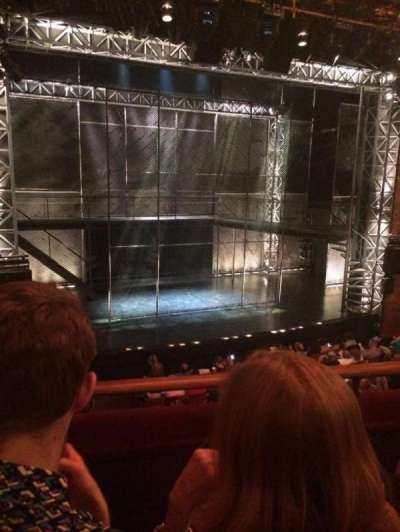 August Wilson Theatre, section: MezzL, row: B, seat: 7