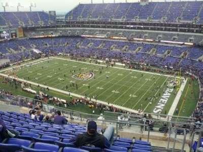 M&T Bank Stadium, section: 549, row: 15, seat: 1