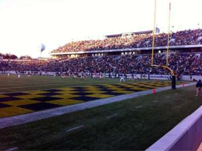 Navy-Marine Corps Memorial Stadium, section: H, row: 1