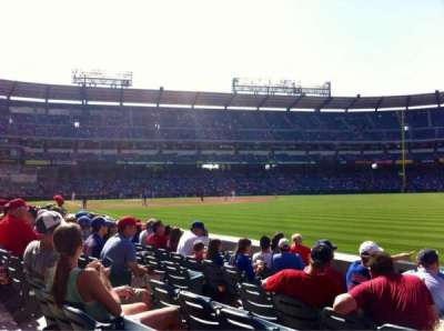 Angel Stadium, section: F132, row: G, seat: 8