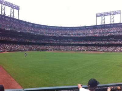 AT&T Park, section: 144, row: 2, seat: 22