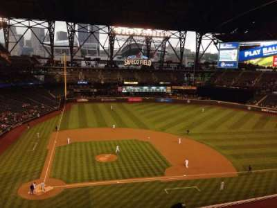 Safeco Field, section: 325, row: 1, seat: 13