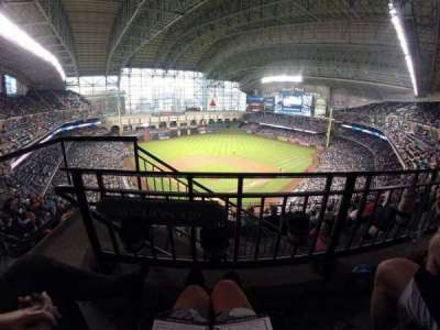 Minute Maid Park, section: 420, row: 1, seat: 2