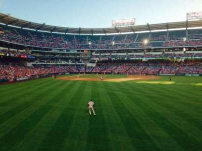 Angel Stadium, section: P237, row: A, seat: 14