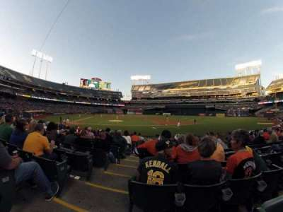 Oakland Alameda Coliseum, section: 113, row: 16, seat: 16