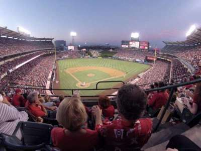 Angel Stadium, section: V420, row: D, seat: 15