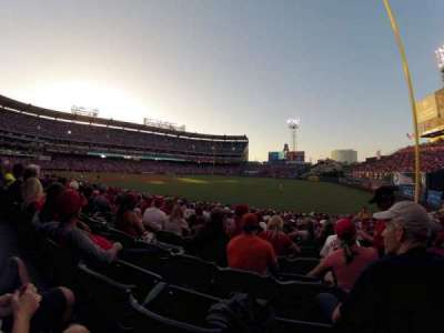 Angel Stadium, section: 131, row: W, seat: 15