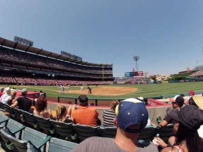 Angel Stadium, section: F126, row: E, seat: 15