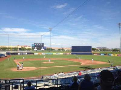Peoria Sports Complex, section: 206, row: GG, seat: 2