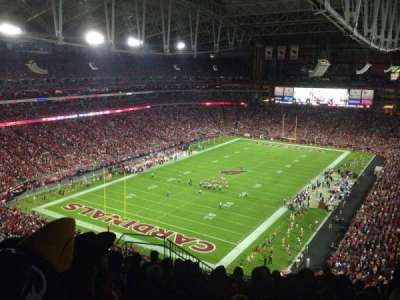 University of Phoenix Stadium, section: 454, row: 10, seat: 20