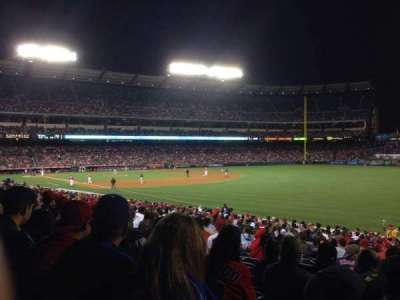 Angel Stadium, section: F131, row: Z, seat: 9