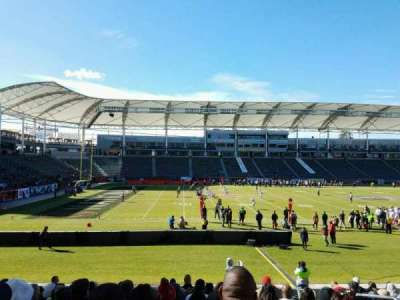 StubHub Center, section: 135, rangée: P, siège: 5