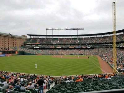 Oriole Park at Camden Yards, section: 79, row: 1, seat: 16