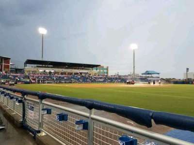 Blue Wahoos Stadium, section: 114, row: A, seat: 13
