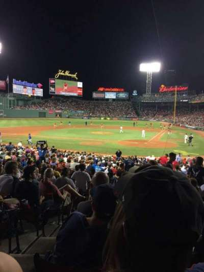 Fenway Park, section: Field Box 23, row: MM, seat: 7
