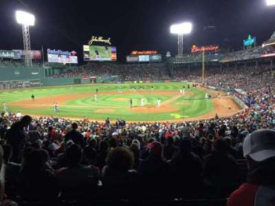 Fenway Park section Grandstand 23