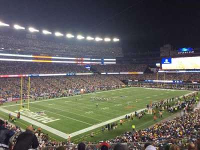 Gillette Stadium, section: 238, row: 6, seat: 7