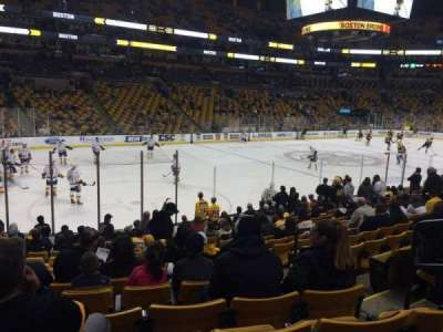 TD Garden section Old Loge 4