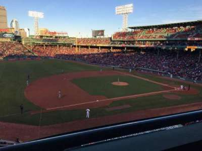 Fenway Park, section: Suite L12, row: 1, seat: 5