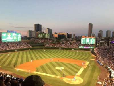 Wrigley Field section 314L