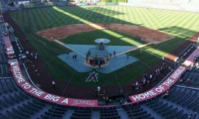 Angel Stadium, section: V419, row: A, seat: 9