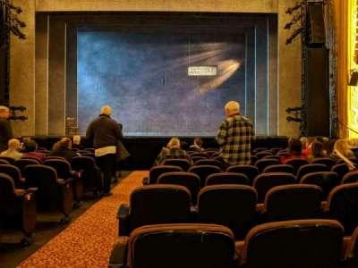 Paramount Theatre (Seattle) section Main Floor 2
