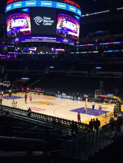 Staples Center section PR11