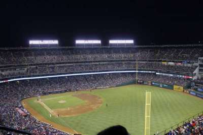 Globe Life Park in Arlington section 343