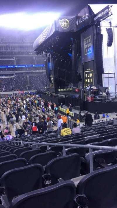 MetLife Stadium, section: 111C, row: 13, seat: 3