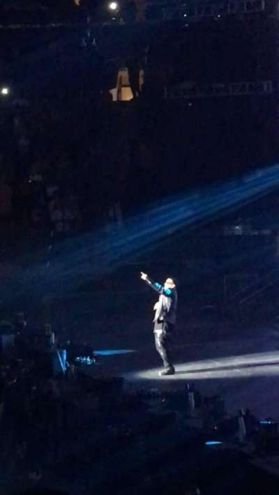 Madison Square Garden, section: 108, row: 11, seat: 13