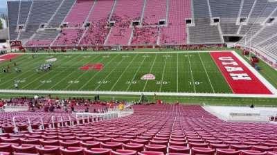 Rice-Eccles Stadium, section: E34, row: 53, seat: 18