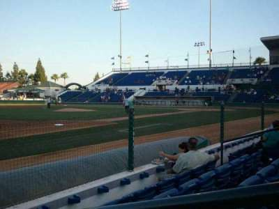 LoanMart Field, section: FB16, row: D, seat: 1