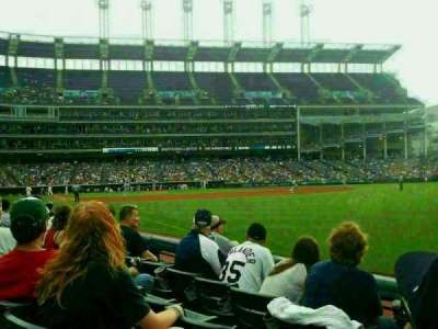 Progressive Field section 125