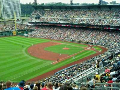 PNC Park Section Home Of Pittsburgh Pirates - Pnc park map seating
