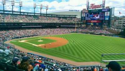 Comerica Park section 214