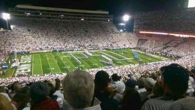 Beaver Stadium section WHU
