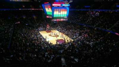 Quicken Loans Arena, section: 232, row: 2, seat: 3